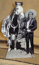 Cisco Kid and His Horse Diablo Western TV Star Tabletop Display Standee