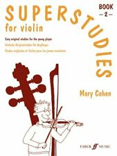 Superstudies Violin Book 2 by Mary Cohen 9780571514502 | Brand New