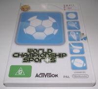 World Championship Sports Nintendo Wii PAL *Complete* Wii U Compatible