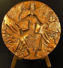 Medaille religieuse sacré coeur de Jésus Christ religious sacred heart medal