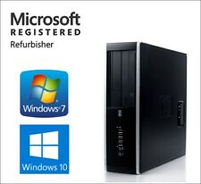 DELL HP Fast Desktop Computer PC Windows 7 Windows 10 | Intel | WiFi | 8GB | 1TB