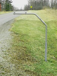 RTC-Swing Away mailbox post. Swings out of the way when impacted by snow plow