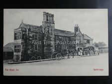 Derbyshire HATHERSAGE The Fox House Inn shows Horse & Coach c1903 by A.P.Co. 375
