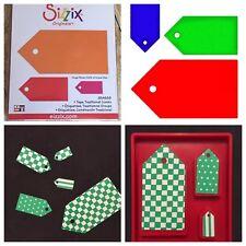 Sizzix Die Traditional Tags Combo Large Original DieCut Tag Bigkick Scrapbook