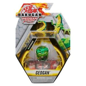 BAKUGAN GEOGAN RISING GREEN VENTUS VIPERAGON! GATE CARD! ULTRA RARE! UK!
