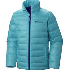 Ciaolumb Boys Airspace Down Jacket size XS 6/7 Blue Lightweight Warm