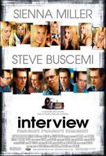 "INTERVIEW - 27""x40"" D/S Original Movie Poster One Sheet 2007 Steve Buscemi"