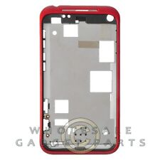 Faceplate for HTC Droid Incredible 2 Red Replacement Front Parts Replacement