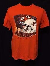 New listing Auburn Tigers Ncaa Sec College Football Team Helmet Flag Large Orange T-shirt