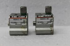 Lot of 2 SMC CYLINDER CQ2A12-5S Compact spring return Piston