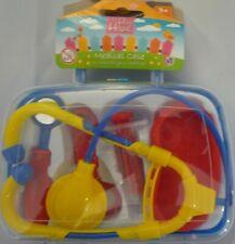 Kids Medical Set Medic Set Doctor Nurse Kit Fancy Dress Toy in Carry Case