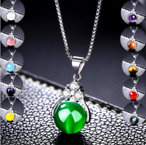 female silver plated versatile transfer bead crystal pendant Accessories 12mm