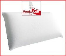 Coppia federe VENIXSOFT Antiacaro, lavabile, per cuscino memory, lattice e fibra