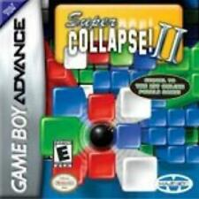 Super Collapse! II Game Boy Advance Game Used Complete