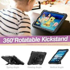 """For Lenovo Tab M10 FHD Plus 10.3"""" Tablet Case Shockproof Rotating Stand Cover"""