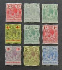 nystamps British Solomon Islands Stamp # 19//33 Mint OG H $31