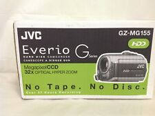 JVC Everio G Series Gz-MG155 Megapixel CCD 32x HDD Camcorder - Brand New