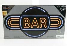 Bar Sign Light Artwork Game Light Bar Sign Room Wall Decor Great Gift Nib