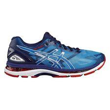Zapatillas de deporte azul ASICS de goma