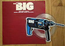 EX! MR BIG THE DRILL SONG Shaped VINYL Pic Picture  Disc