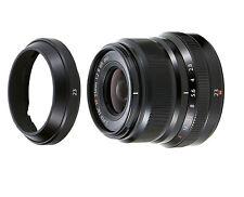 Without Box /  Fujifilm XF 23mm XF23mm F/2 F2 R WR Lens Black