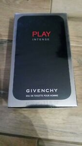GIVENCHY PLAY INTENSE 100 ml  EDT FOR MEN NEW!