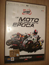 DVD N°10 SUPERBIKE TRIBUTE LE MOTO CHE HANNO FATTO EPOCA OFFICIAL SBK COLLECTION