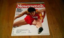 Newsweek Magazine LIU XIANG Barack Obama HUMMER Beijing 1960 Olympics August '08