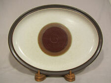 "Denby Potters Wheel Red Rust 13"" Serving Platter/Tray"