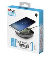Caricabatteria Wireless 10w 2A TRUST QI CARICA VELOCE RAPIDO FAST RAPIDAMENTE