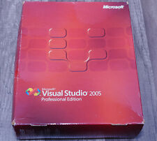 Microsoft Visual Studio 2005 Professional Pro full version pre-owned C5E-00001