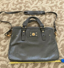 Marc By Marc Jacobs 15 Inch Patent Leather Gray Laptop Bag $250