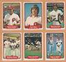 1982 Fleer Philadelphia Phillies Team Lot Pete Rose Mike Schmidt Steve Carlton +