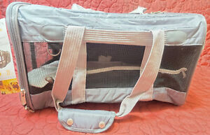 Sherpa 55555 Travel Deluxe Airline Approved Pet Carrier Large Charcoal Cat Dog