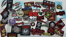 Iron on patches 20 Wholesale Joblot Rock band mix cheap