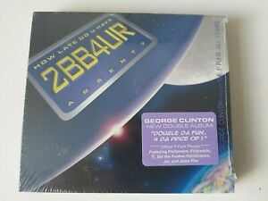 GEORGE CLINTON HOW LATE DO U HAVE 2BB4UR ABSENT? PRINCE PARADIGM 2 CD 2005