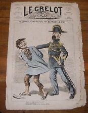 Le Grelot Journal Satirique N°91 Réconcilions nous par Alfred le Petit 1873