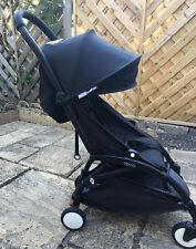 Baby Yoyo Zen+ BLKFullPackage-Newborn,Stroller,Rain-covers,Adapters,FootMuff,Cup