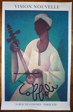 Louis Toffoli Affiche en lithographie personnage orientaliste Mourlot Imp