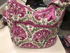 Vera Bradley Purse Handbag Pink Julep Tulip Print Rarefind Very Gently Used