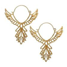 NEW Angel hoop earring in gold Women's by Charli Bird