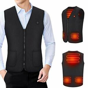 Heated Vest Electric Jacket for Men and Women USB Body Warmer Washable Heat U...