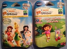 Tinkerbell & Dora's Fix It Adventure V. Smile Motion Games 4-6 Years