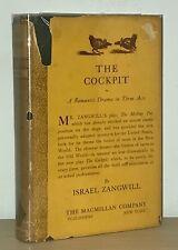 Israel Zangwill - The Cockpit - 1st 1st HCDJ - 1921 - Author Big Bow Mystery -NR