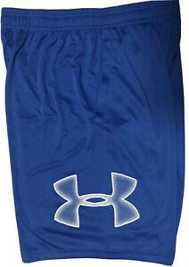 Under Armour Men's UA Tech Graphic Workout HeatGear Shorts.Tech Blue.1306443