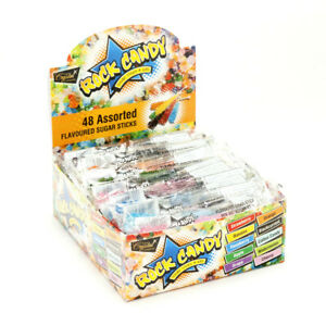 Carton of 6 x 48pc Rock Candy Retail Shippers | 288pcs | 15 Colours
