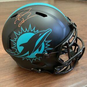 Dan Marino SIGNED REPLICA HELMET autograph Dolphins Fanatics COA