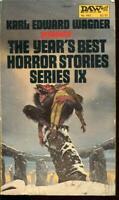 The Year's Best Horror Stories IX Karl Edward Wagner 1st/1st DAW N.445 PBO Good
