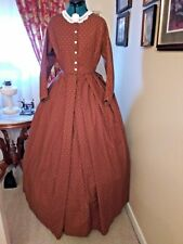 Civil War Reenactment Day Dress Size 28