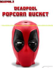 DEADPOOL 2 theater POPCORN BUCKET HEAD 2018 mint in bag WINK EYE